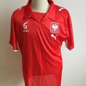 Puma Poland size XL red jersey  away world cup